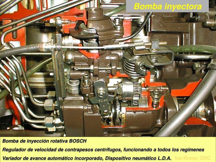 Bomba inyectora
