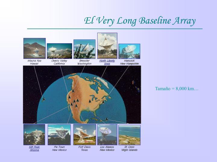 El Very Long Baseline Array
