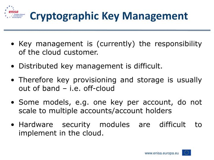 Cryptographic Key