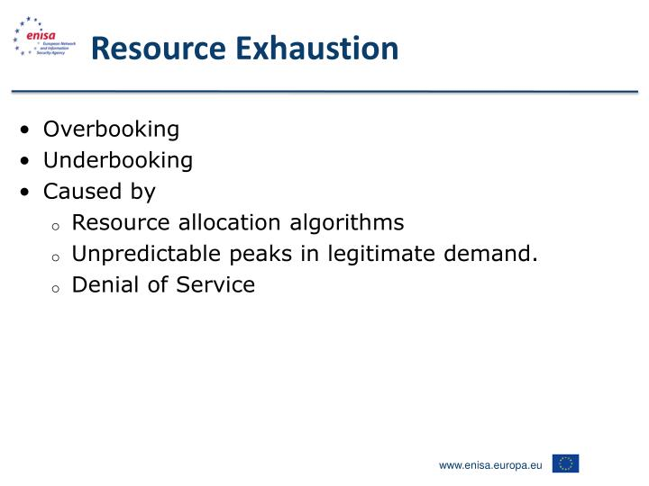 Resource Exhaustion