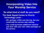 incorporating video into your worship service10