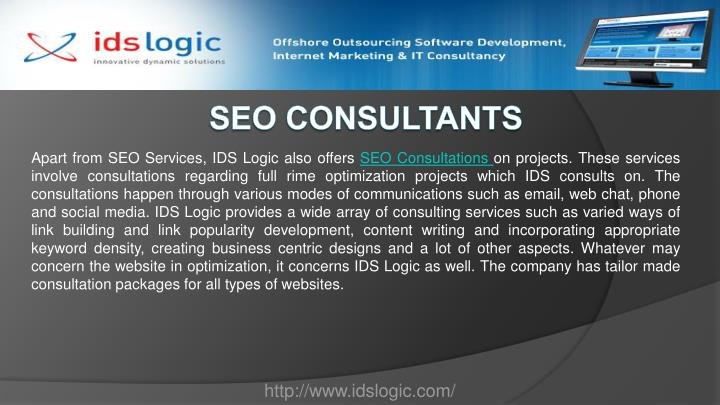 Apart from SEO Services, IDS Logic also offers