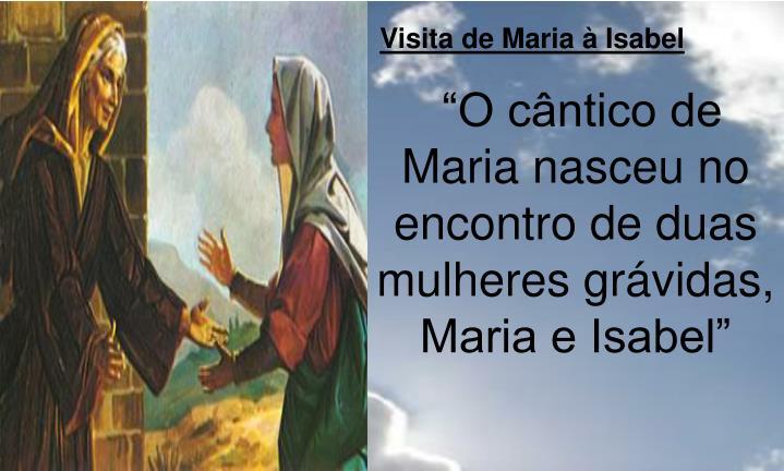 Visita de Maria à Isabel