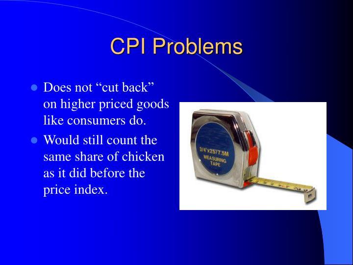 CPI Problems