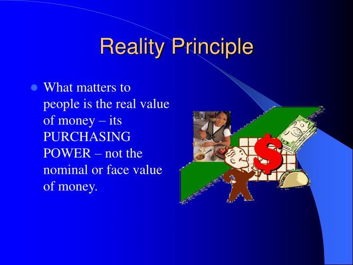 Reality Principle