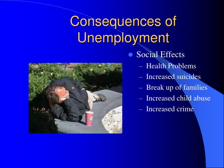 Consequences of Unemployment
