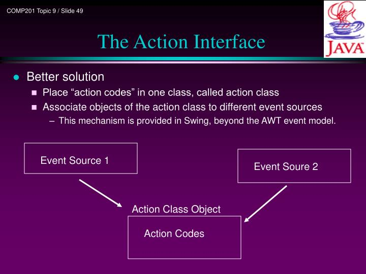 Action Class Object