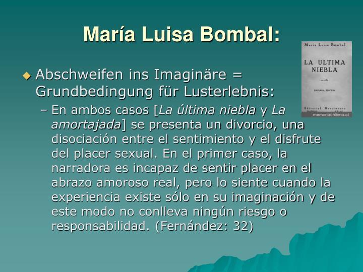 María Luisa Bombal: