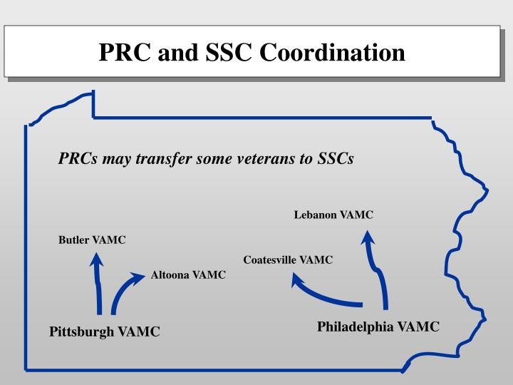 PRCs may transfer some veterans to SSCs