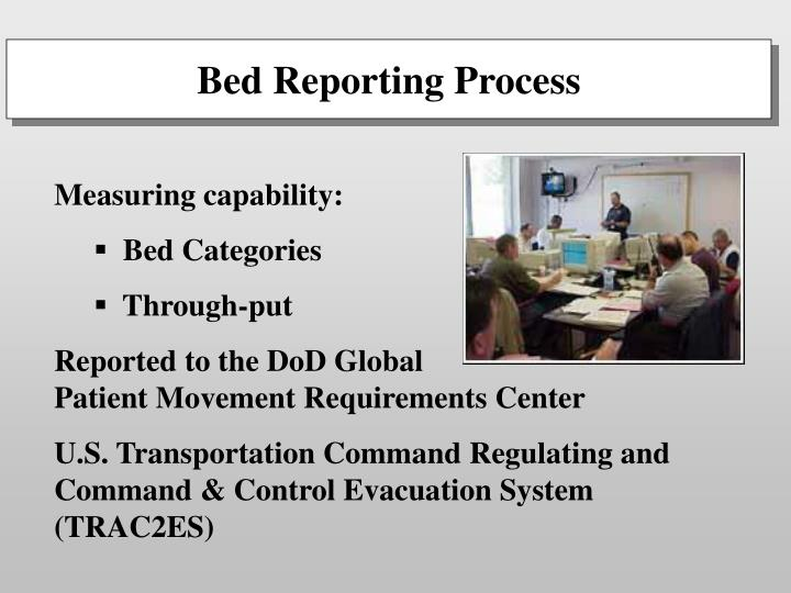 Bed Reporting Process