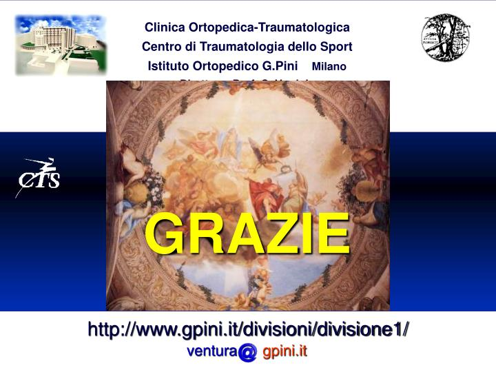 Clinica Ortopedica-Traumatologica