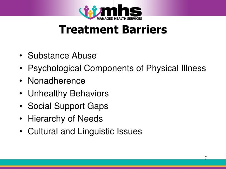 Treatment Barriers