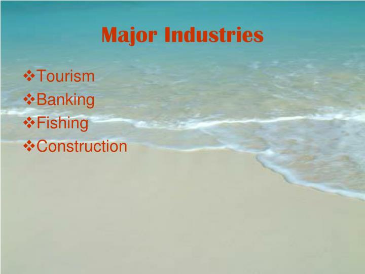 Major Industries