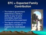 efc expected family contribution