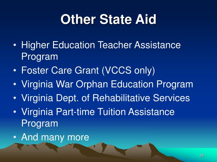 Other State Aid