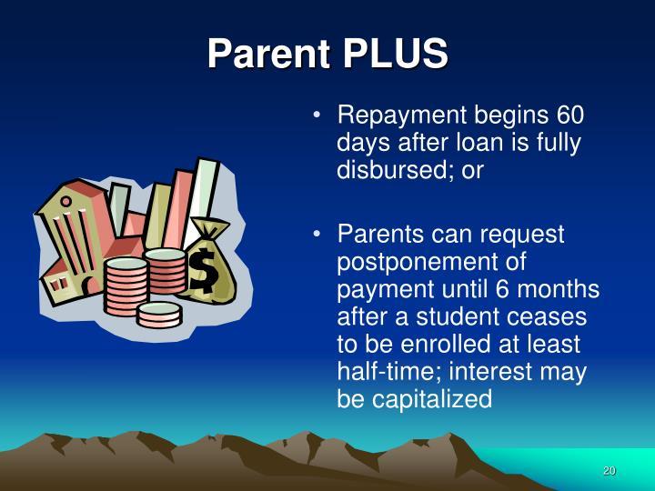 Parent PLUS