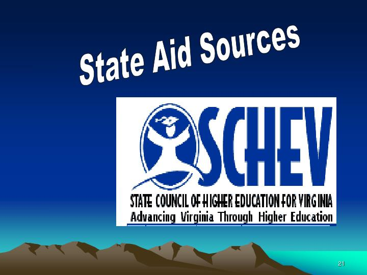 State Aid Sources