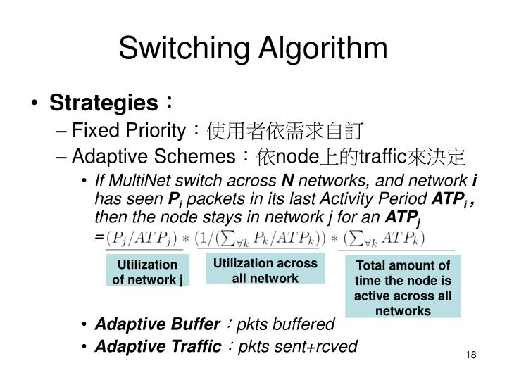 Switching Algorithm