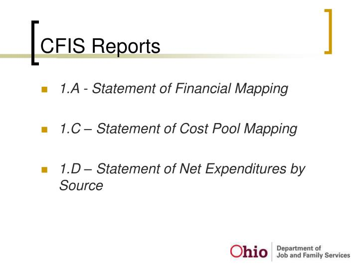 CFIS Reports