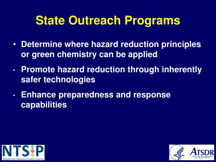 State Outreach Programs