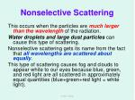 nonselective scattering