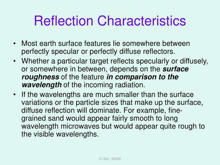 Reflection Characteristics