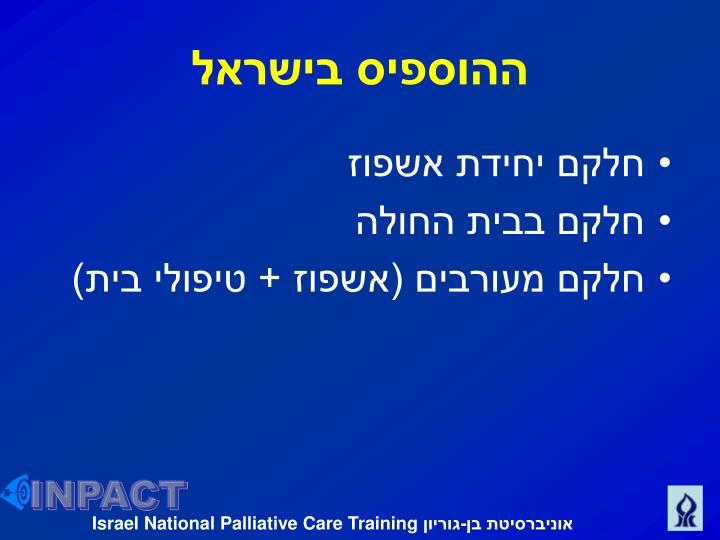 ההוספיס בישראל