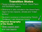 transition states