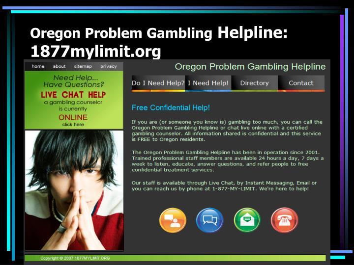 Oregon Problem Gambling