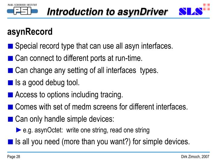 asynRecord