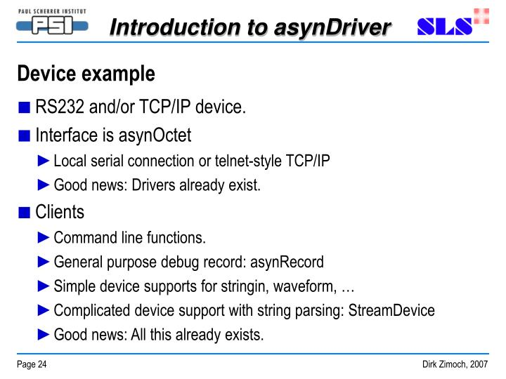 Device example