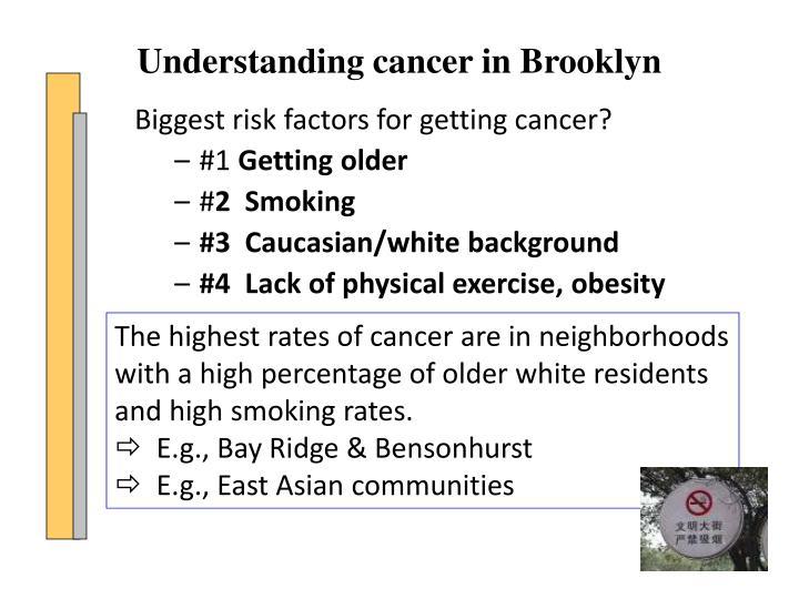 Biggest risk factors for getting cancer?