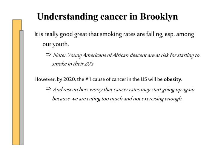 It is really good great that smoking rates are falling, esp. among our youth.