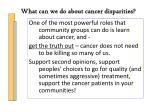 what can we do about cancer disparities5