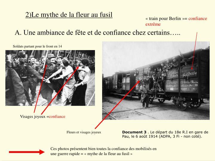 2)Le mythe de la fleur au fusil