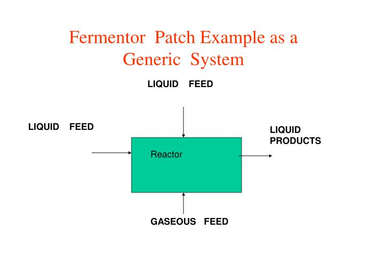 Fermentor  Patch Example as a