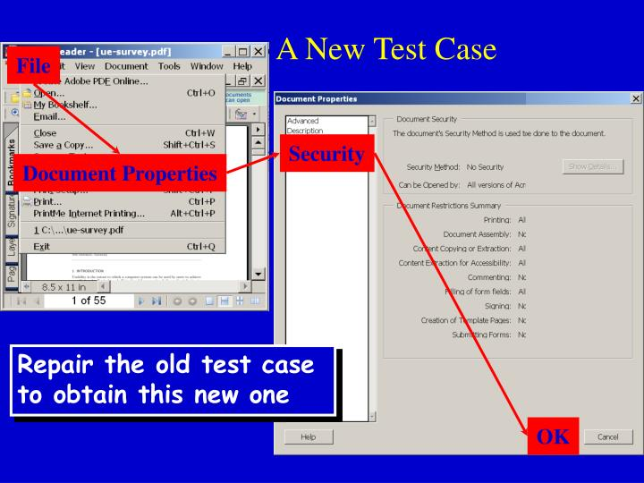 A New Test Case