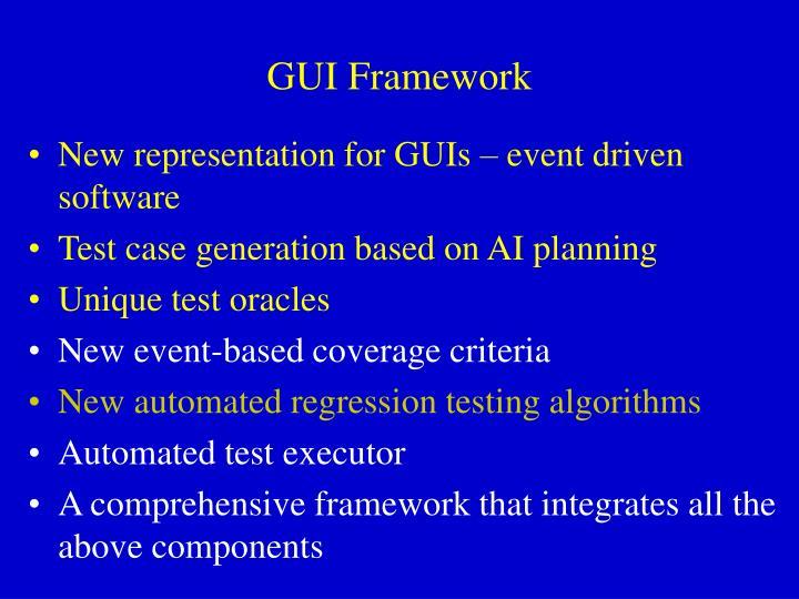 GUI Framework