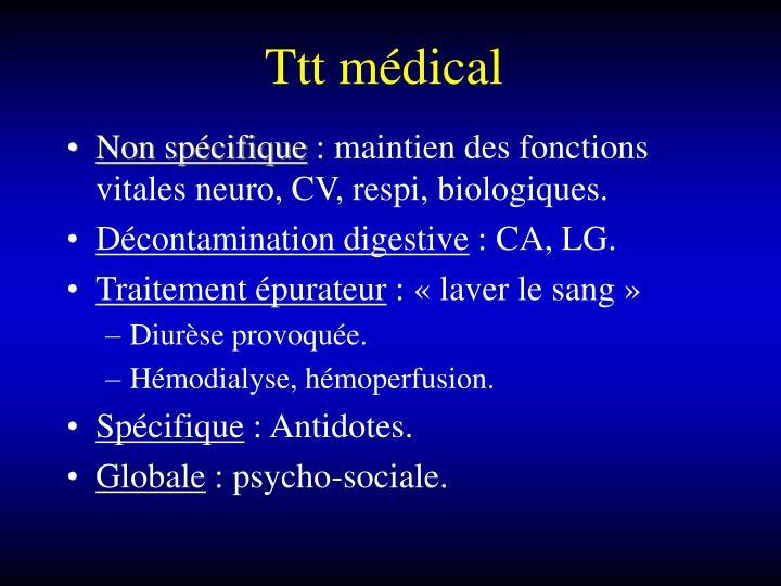 Ttt médical