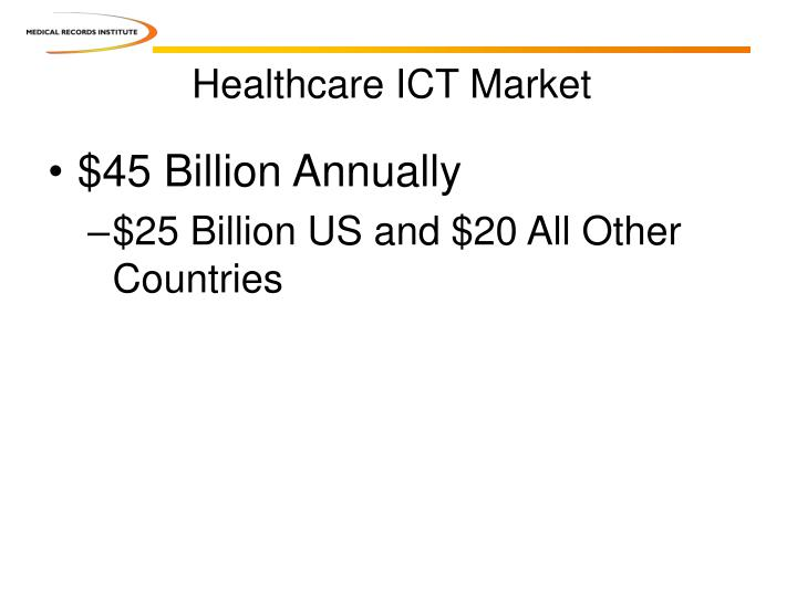 Healthcare ICT Market