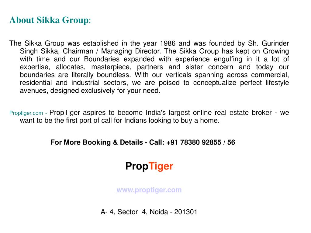 About Sikka Group