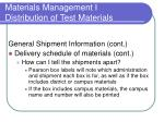 materials management i distribution of test materials23