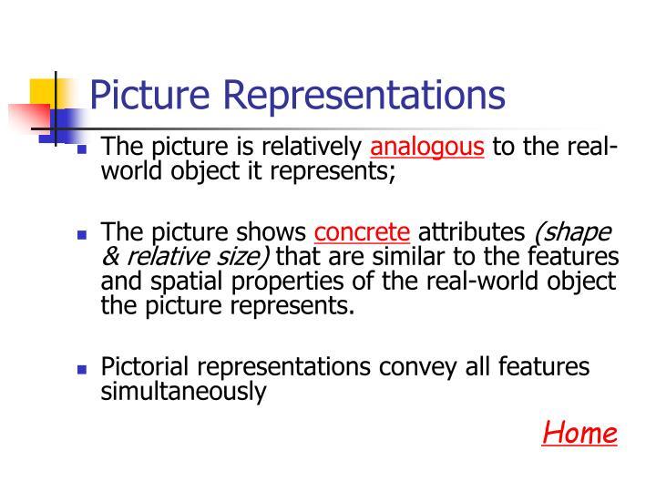 Picture Representations
