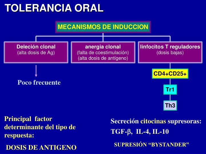 TOLERANCIA ORAL