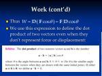 work cont d2