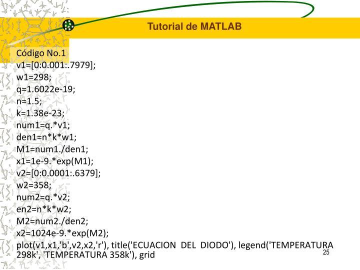 Código No.1