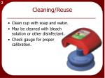 cleaning reuse