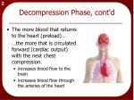 decompression phase cont d1