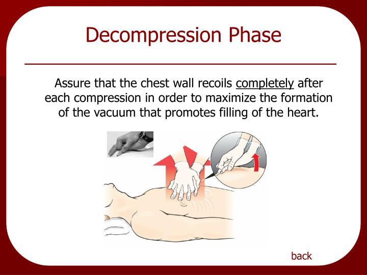 Decompression Phase