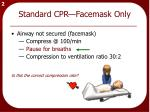 standard cpr facemask only